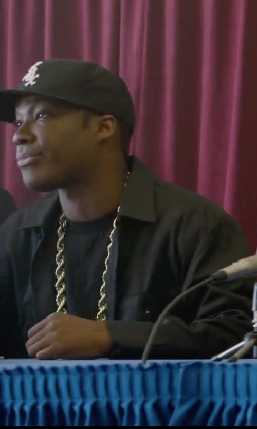 Corey Hawkins with Fanmail Boxy T-Shirt in Straight Outta Compton