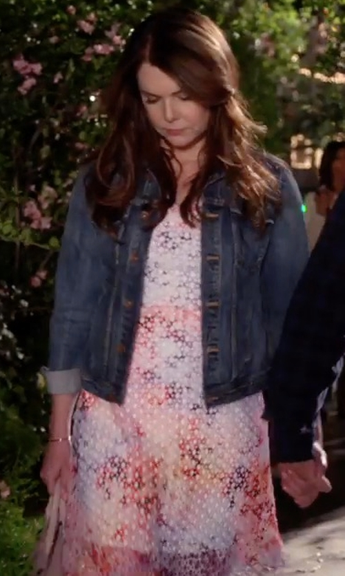 Lauren Graham with Kate Spade New York Hollyhock Shirtdress in Gilmore Girls: A Year in the Life