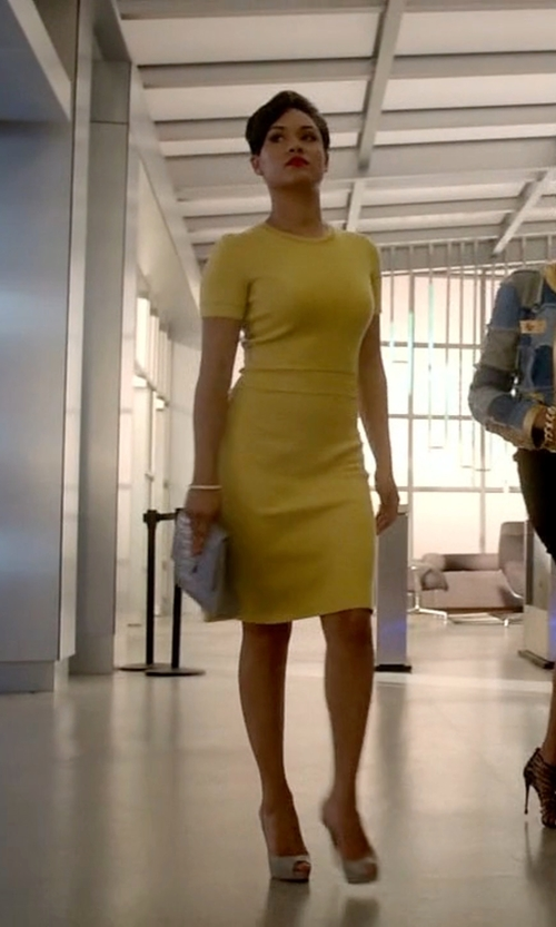 Grace Gealey with Miss Bendel Metal Rivet Bangle in Empire