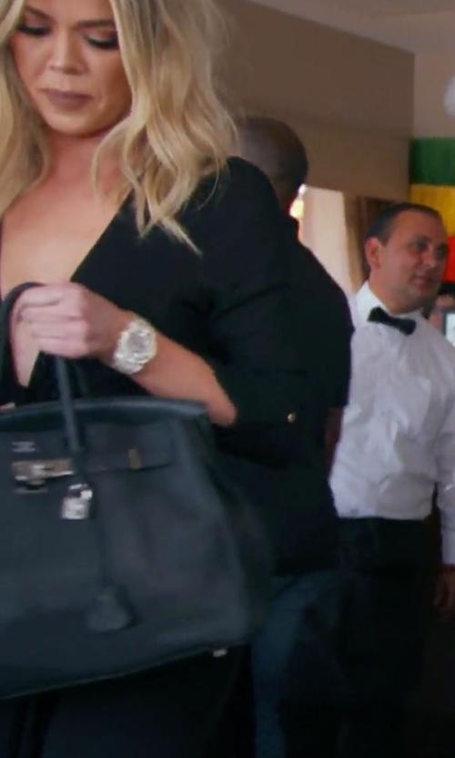 Khloe Kardashian with Hermès Vintage 'Birkin' Tote Bag in Keeping Up With The Kardashians