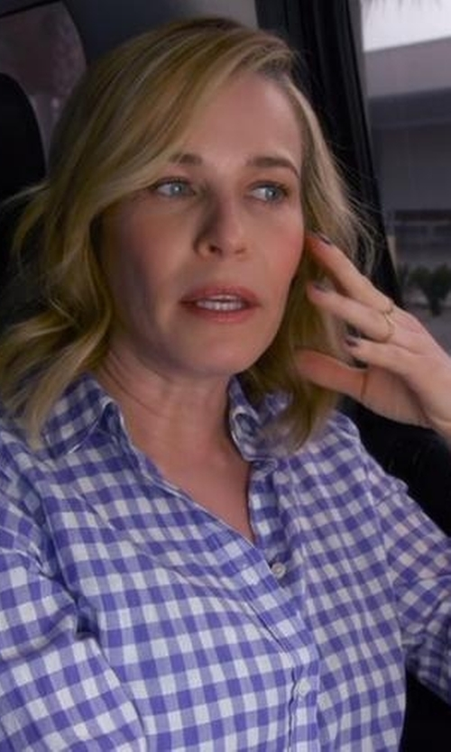 "Chelsea Handler with King Baby ""Cross"" Onyx Bead Bracelet in Chelsea"