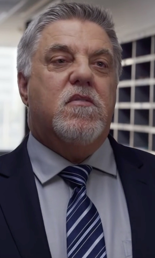 Bruce McGill with Thomas Mason Ludlow Shirt in Ride Along 2