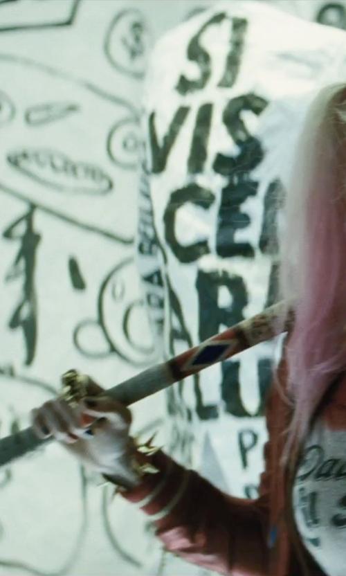 Margot Robbie with Rebecca Minkoff Mini Love Cross-Body Handbag in Suicide Squad