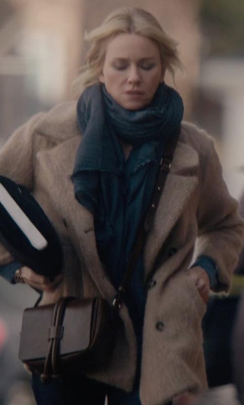 Naomi Watts with Kempton & Co Marlborough Leather Crossbody Bag in Gypsy