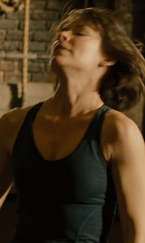 Evangeline Lilly with Splits 59 'Ashby' Racerback Tank Top in Ant-Man