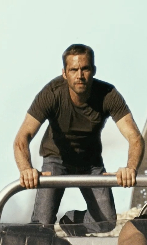 Paul Walker with Brunello Cucinelli	 Lightweight Medium Wash Jeans in Fast Five
