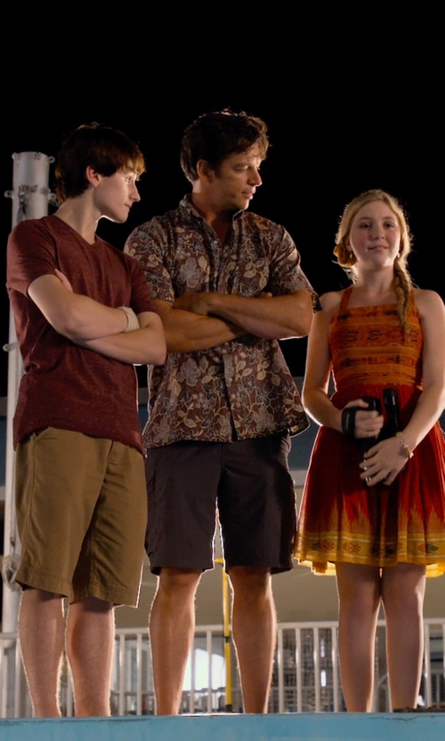 Harry Connick Jr. with PEdALED Discovery Shorts in Dolphin Tale 2