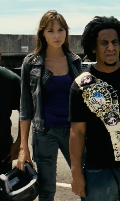 Gal Gadot with Daniele Alessandrini Cargo Pants in Fast Five