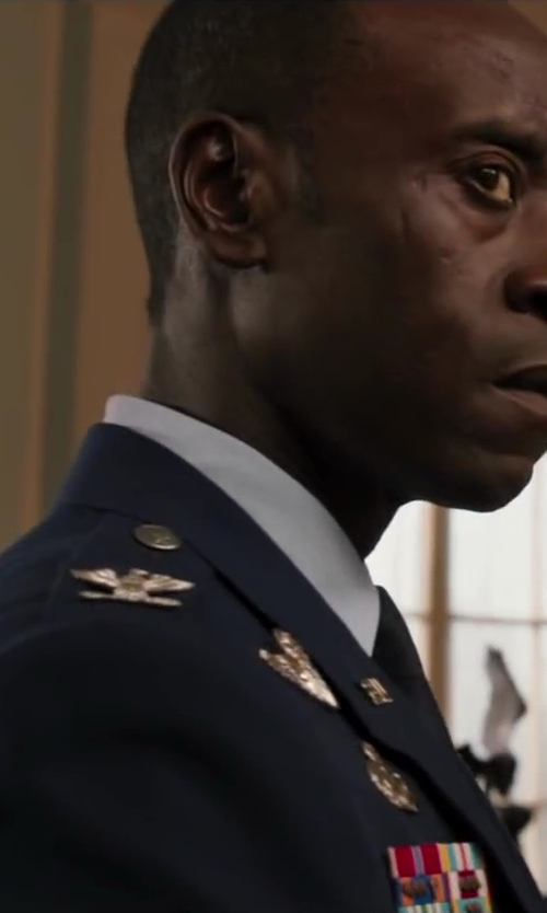 Unknown Actor with The salute uniforms US ARMY OFFICER MALE BLUE ARMY SERVICE UNIFORM - ASU in Iron Man 3