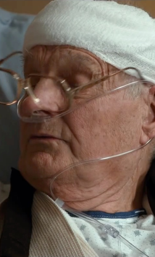 Alan Alda with Corinne McCormack Truman Reading Glasses in The Longest Ride