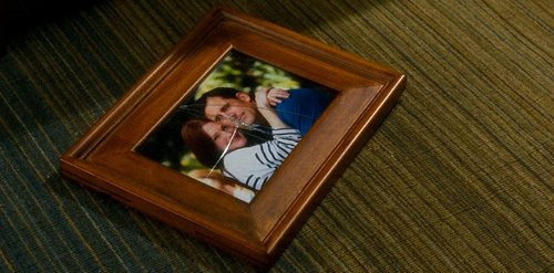 Analeigh Tipton with Eccolo Marquetry Wood Frame in Crazy, Stupid, Love.