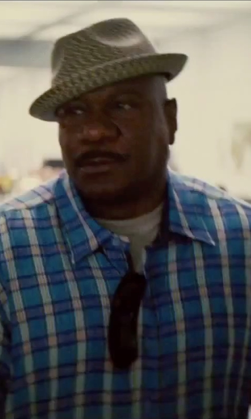 Ving Rhames with Brixton Bodhi Fedora Hat in Mission: Impossible - Rogue Nation