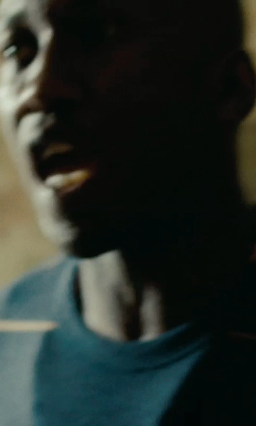 Mahershala Ali with Levi's Men's Lockhart Stripe Crew Sweater in The Place Beyond The Pines