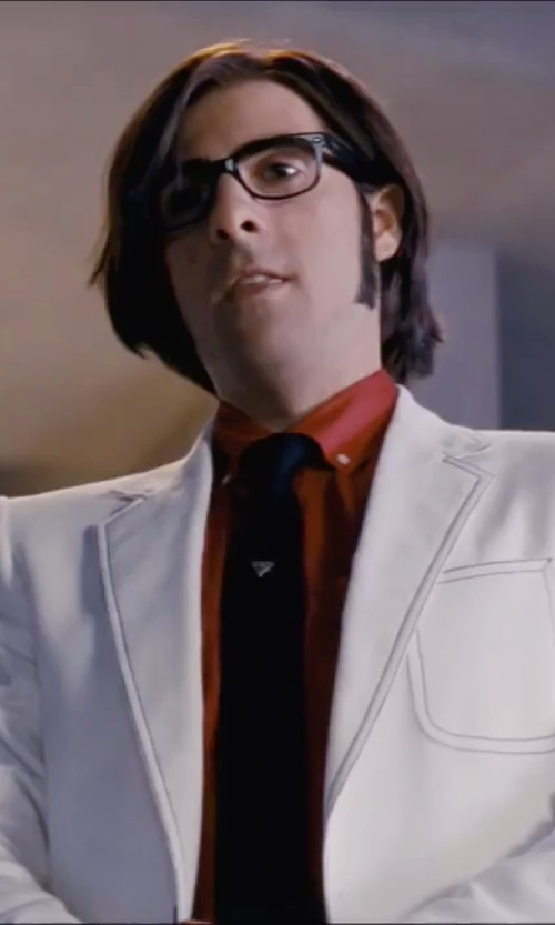 Jason Schwartzman with Ray Ban RX5184 Wayfarer Eyeglasses in Scott Pilgrim Vs. The World