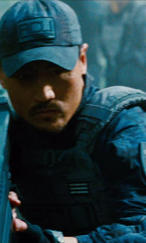Brian Tee with 5.11 TacTec Plate Carrier Vest in Jurassic World