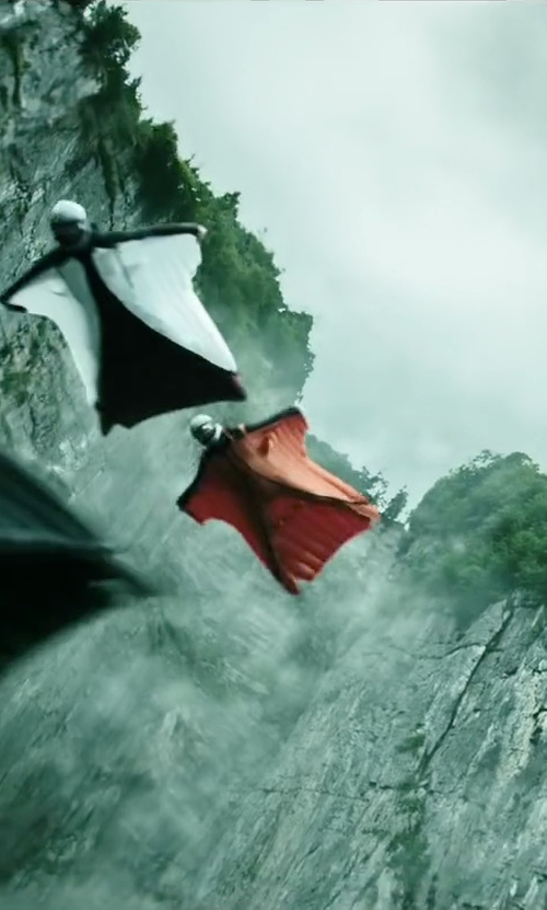 Matias Varela with Phoenix-Fly Ghost 3 Wingsuit in Point Break