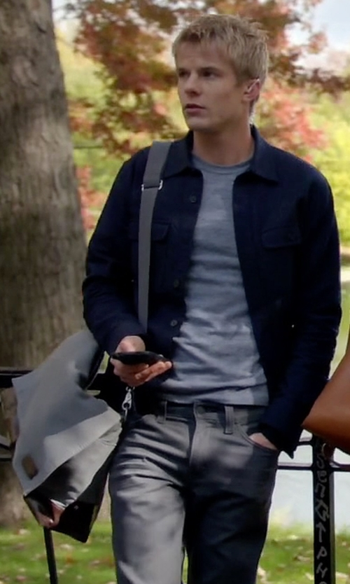 Graham Rogers with Dakine Hudson Messenger Bag in Quantico