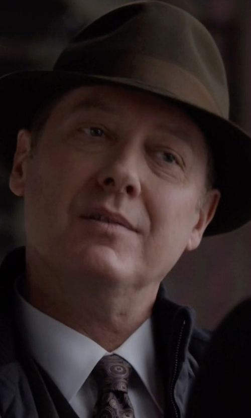 James Spader with Stetson The Concourse Hat in The Blacklist