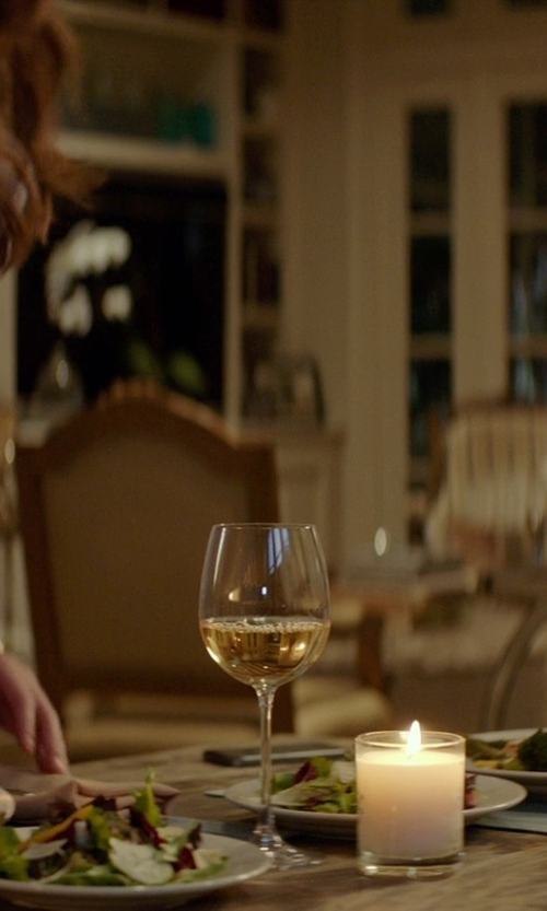 Michelle Monaghan with The Wine Enthusiast Fusion Stemware Pinot Noir Glass in The Best of Me