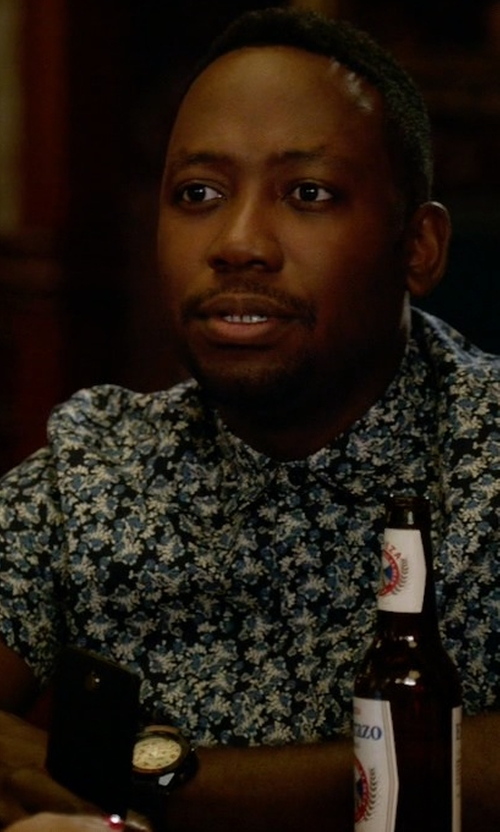 Lamorne Morris with Invicta Bolt Watch in New Girl
