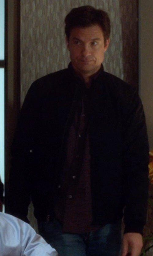 Jason Bateman with Rag & Bone Daltry Shirt Jacket in Horrible Bosses 2