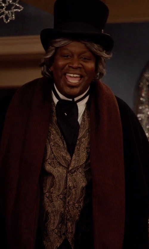 Tituss Burgess with Belfry Hats John Bull Top Hat in Unbreakable Kimmy Schmidt