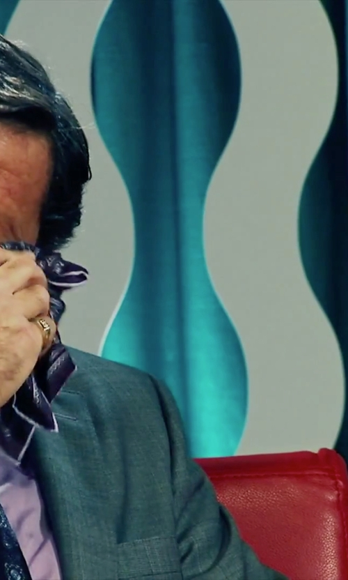 Joaquim de Almeida with The Be Jeweled Egg Rings Gents Signet Ring in Our Brand Is Crisis