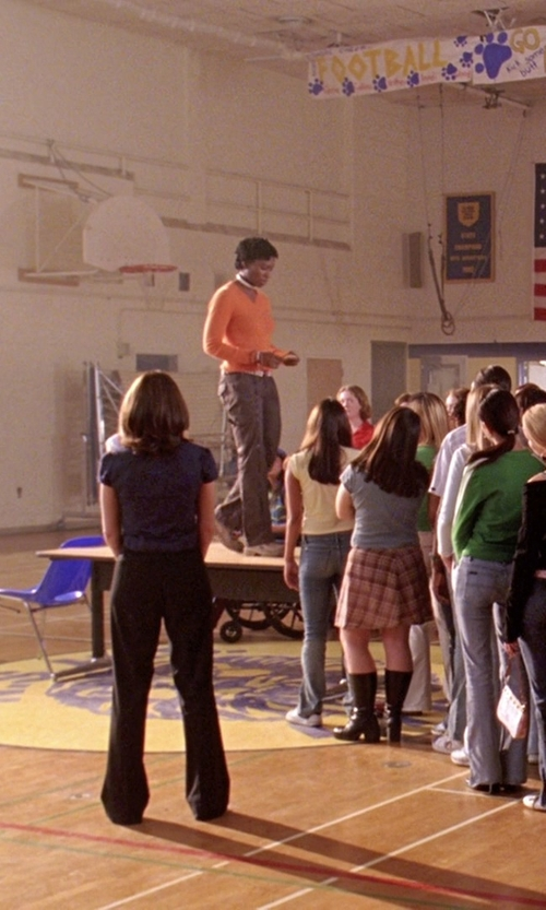Miranda Edwards with Marmot Taylor Pants in Mean Girls