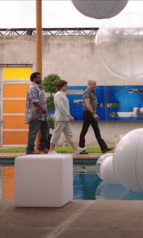 Rob Corddry with Hugo Boss 'Vareb' Plain Toe Oxford in Hot Tub Time Machine 2