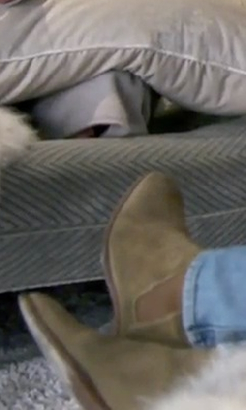 Scott Disick with Common Projects Suede Chelsea Boots in Keeping Up With The Kardashians