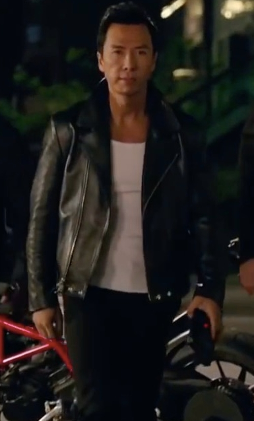 Donnie Yen with Diesel Marton Leather Jacket in xXx: Return of Xander Cage