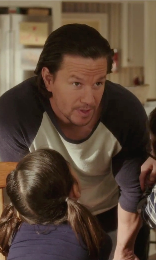 Mark Wahlberg with Calvin Klein Jeans Straight Denim Jeans in Daddy's Home
