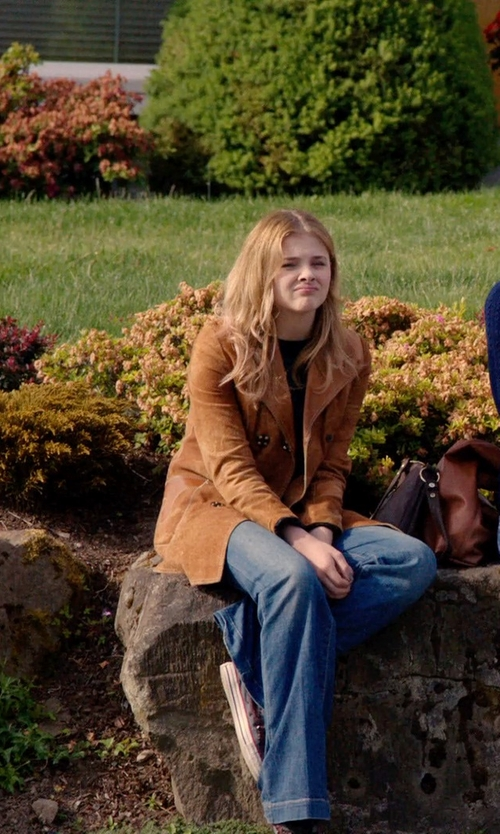 Chloë Grace Moretz with Marc by Marc Jacobs San Francisco Crease Jeans in Laggies