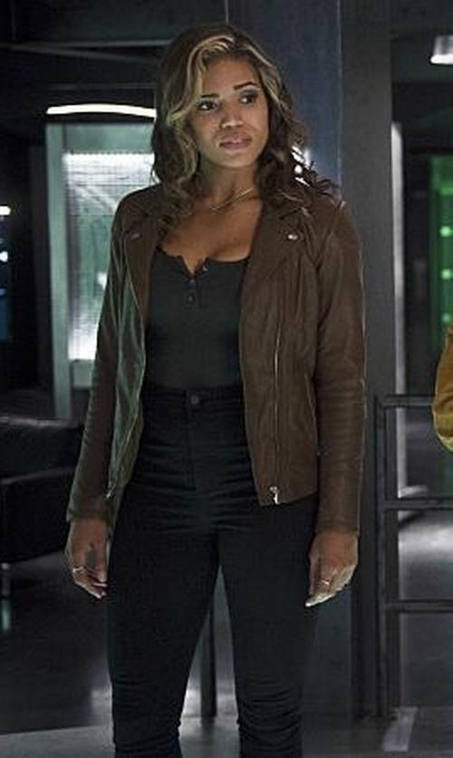 Ciara Renée with Gilligan & O'malley Nursing Henley Cami Top in The Flash