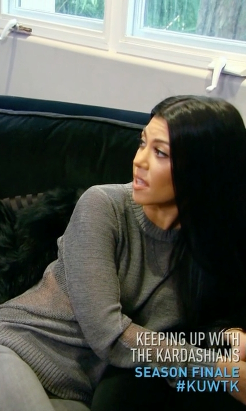 Kourtney Kardashian with Golden Goose Deluxe Brand 'May' Sweater in Keeping Up With The Kardashians