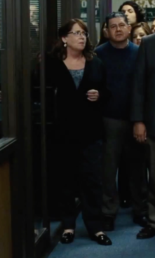 Ann Dowd with Burberry London 'Chalvey' Slim Fit Trousers in Our Brand Is Crisis