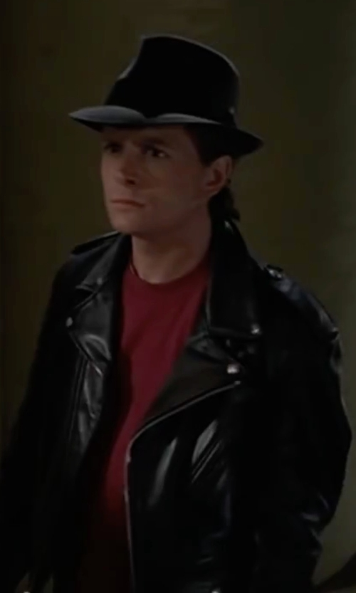 Michael J. Fox with Diesel J-Seddik Jacket in Back To The Future Part II