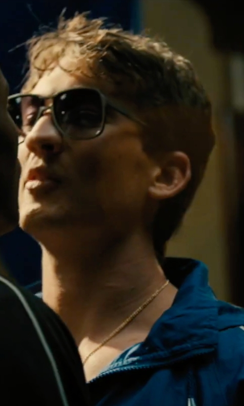 Miles Teller with Ralph Lauren Purple Label Summit Jacket in Bleed for This