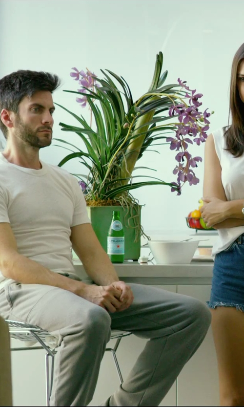Wes Bentley with Y-3 Casual Pants in We Are Your Friends