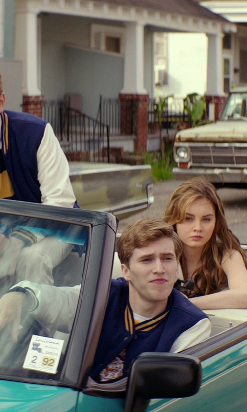Unknown Actor with AWDis Hoods Varsity Letterman jacket in The Best of Me