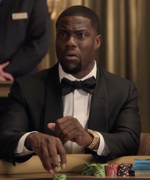 Kevin Hart with Rolex Day-Date Automatic Champagne Watch in Kevin Hart: What Now?