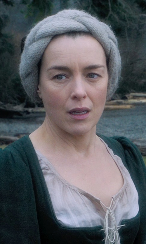 Olivia Williams with Jacqueline West (Costume Deisgner) Custom Made Medieval Peasant Dress (Mam) in Seventh Son