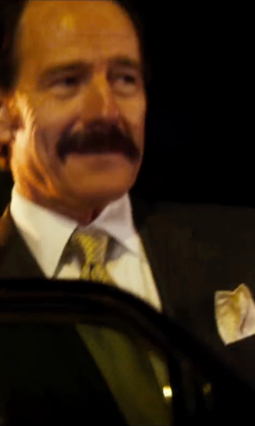 Bryan Cranston with Z Zegna Two Piece Suit in The Infiltrator