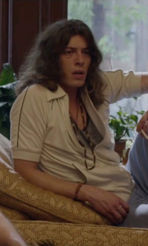 Benedict Samuel with Torrini Lace Pendant Necklace in The Walk