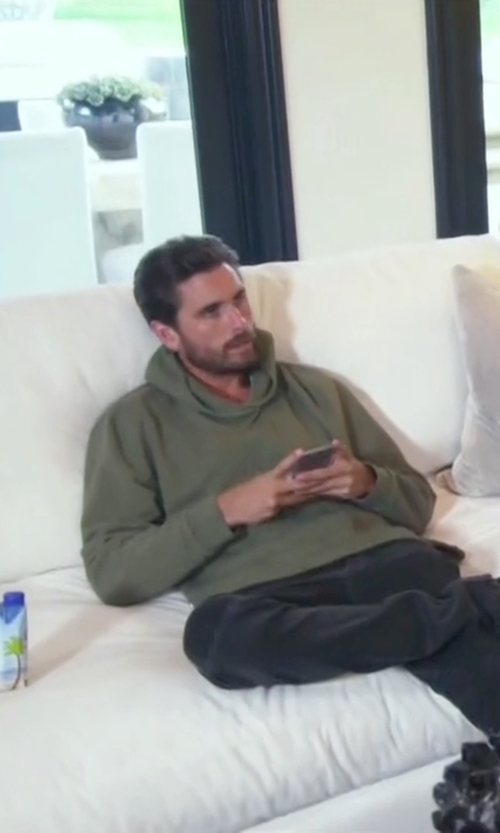 Scott Disick with All Saints Sirrah Oth Hoody in Keeping Up With The Kardashians