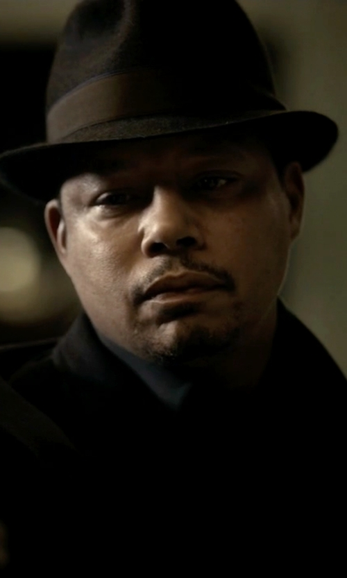 Terrence Howard  with Barbisio Felted Rabbit Hair Fedora Hat in Empire