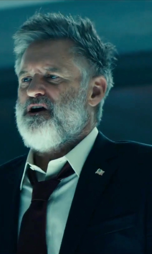 Bill Pullman with Boss Hugo Boss Two-Piece Suit in Independence Day: Resurgence