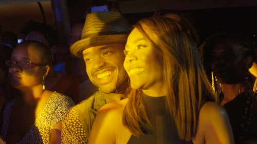 Larenz Tate with Brixton Castor Fedora Hat in Girls Trip