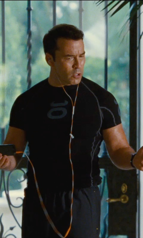 Jeremy Piven with Under Armour HeatGear Compression T-Shirt in Entourage