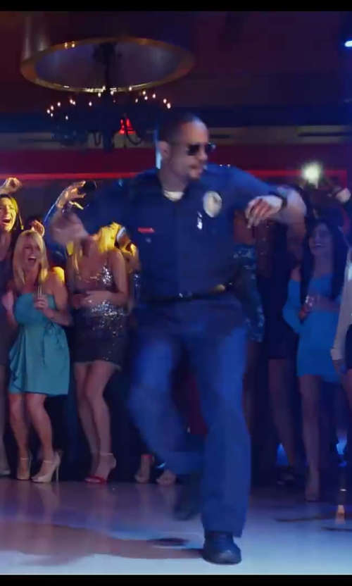 Damon Wayans Jr. with Halloween Costumes Realistic Police Costume in Let's Be Cops